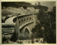 Bridge in Bel-Air, Calif. [color scan]